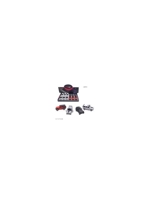 Машинки металлические 6636-60В / Микс
