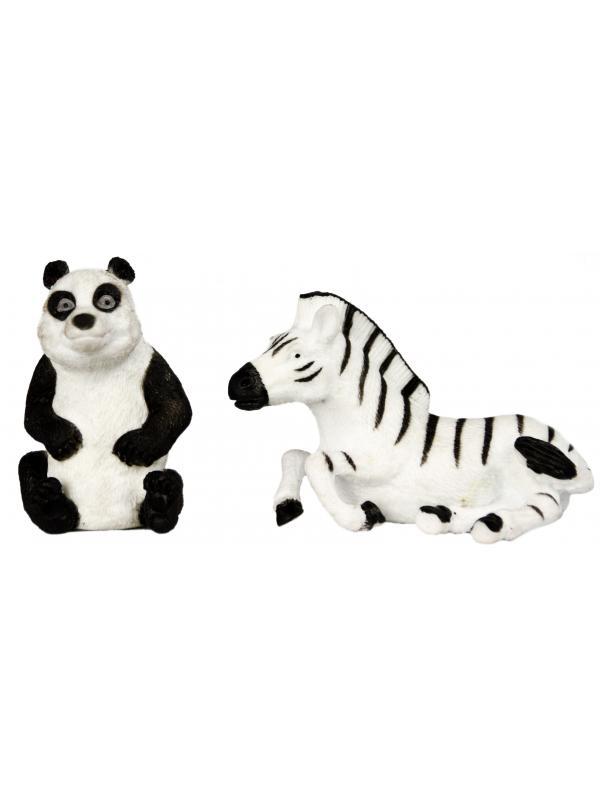 Фигурки животных-тянучек  «Дикие животные Мира» A045P 10-12 см. / 12 штук