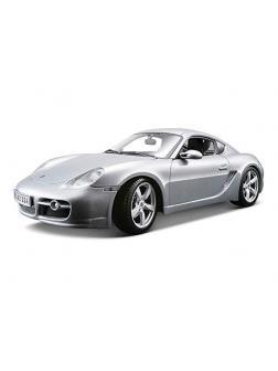 Машина Porsche Cayman S 1:18, серая, 31122 / Maisto