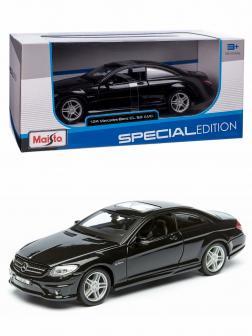 Металлическая машинка Maisto 1:24 «Mercedes-Benz CL 63 AMG» 31297 Special Edition / Черный