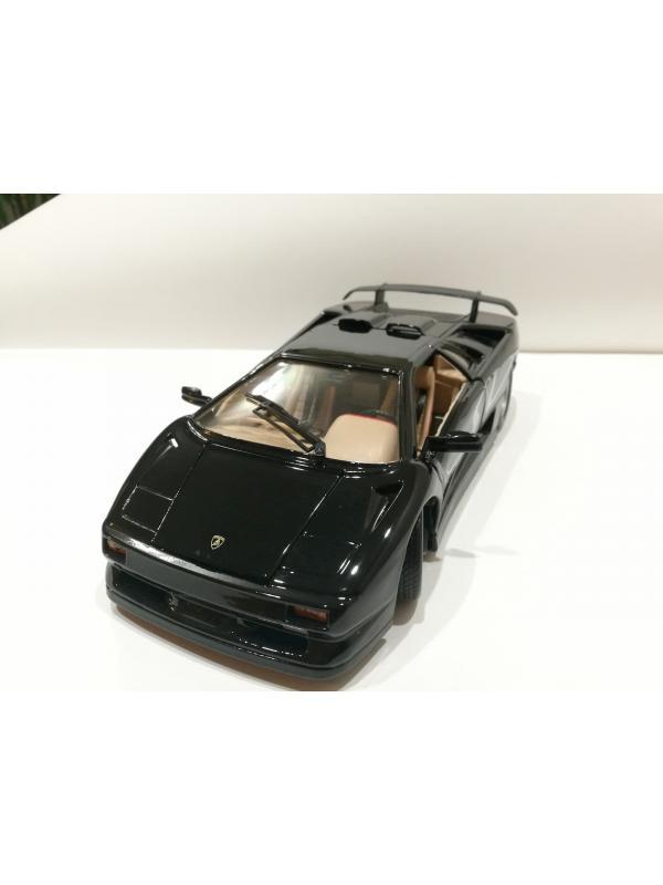 Металлическая машинка Maisto 1:18 «Lamborghini Diablo SV» 24 см. 31844 Hobby Special Edition/ Черная