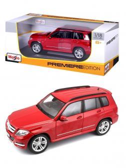 Металлическая машинка Maisto 1:18 «Mercedes-Benz GLK-класс» 36200 / Красный