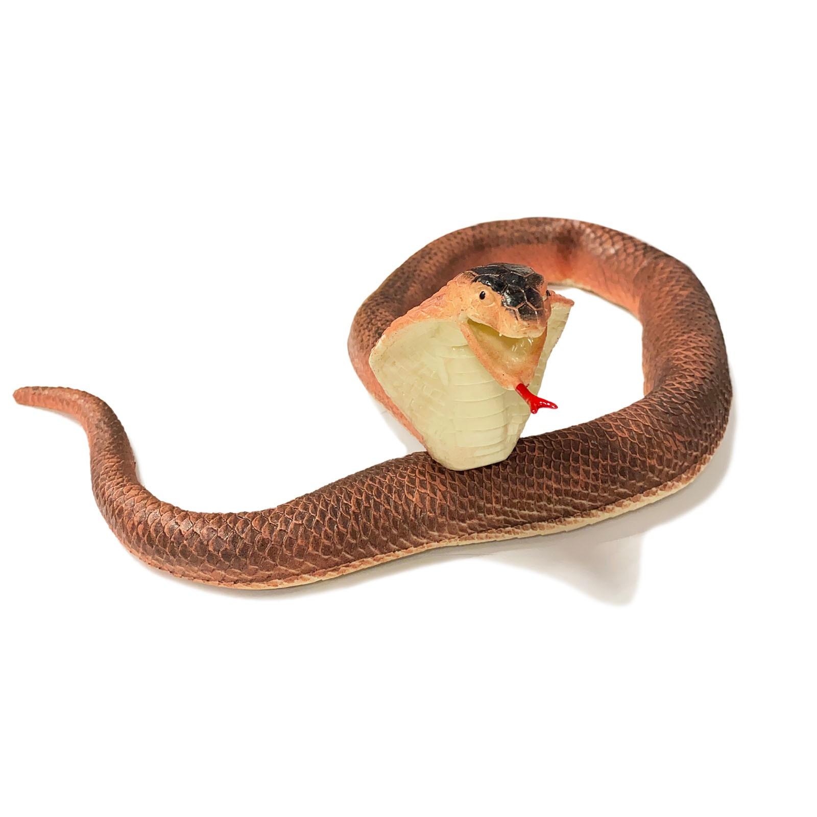 Игрушка-тянучка «Змея-кобра» 100 см., A034P / Микс