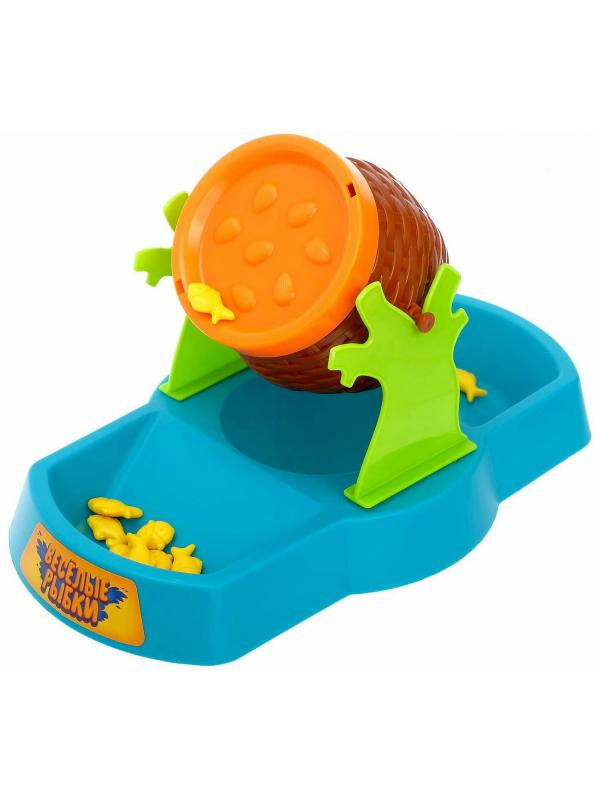Детская Настольная игра на равновесие Zhingle «Не рассыпь рыбок!» для развития логики и мелкой моторики