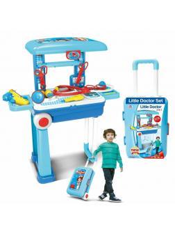 Игровой набор «Доктор» в чемоданчике с аксессуарами / D008-925