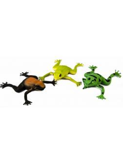 Игрушка-тянучка «Лягушка» 7 см. Животные из термопластичной резины / 3 штуки