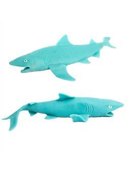 Морские животные-тянучки «Акула» A105DB из термопластичной резины 19 см. / 2 шт.