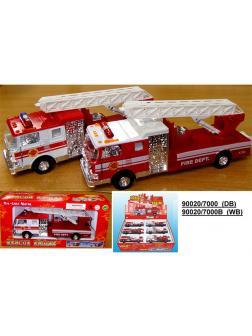 Машинка металл Пожарная 12шт (1шт) в ассортименте