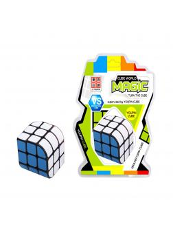 Кубик Рубика «Cube World Magic» Н230 / 3х3, с круглыми гранями