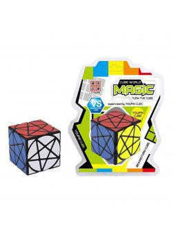 Кубик Рубика «Cube World Magic» Н202 / пятиконечная звезда