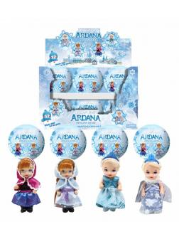 Кукла в шаре Frozen, Д350 / ARDANA