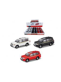 Машинка металлическая «Джип» 89008-12Д / Микс