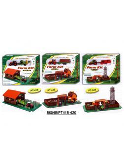 Детский игровой набор Farm Kit «Ферма с трактором» 418-420 / Микс