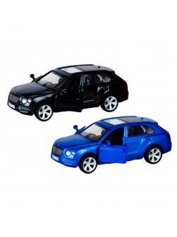 Металлическая машинка Play Smart 1:45 «Bentley Bentayga» 6639 Автодром, инерционная / Микс