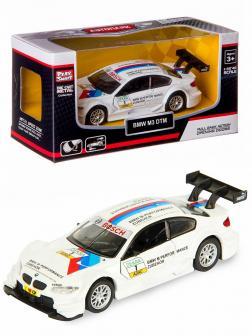 Машинка металлическая Play Smart 1:42 «BMW М3 DTM» 6635 / Белый
