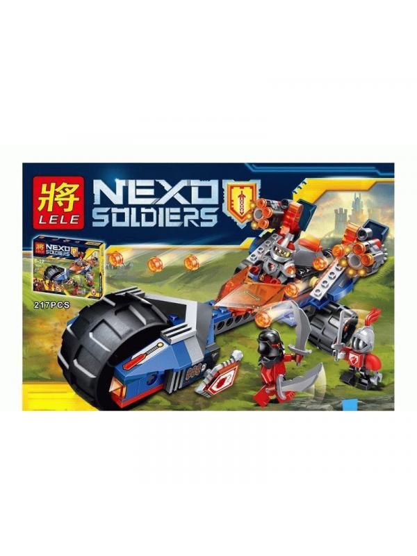 Конструктор Ll «Молниеносная машина Мэйси» 79306 (Nexo Knights 70319) / 217 деталей