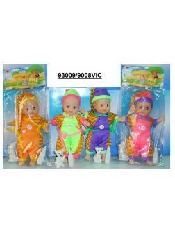 Пупс Sweet doll с аксессуарами Д9008VIC, высота 15 см, 4 вида / Gratwest