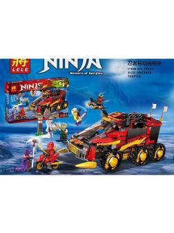 Конструктор Ll «Мобильная база Ниндзя» 79143 (НиндзяГо 70750) / 788 деталей
