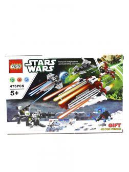 Конструктор COGO «Схватка космических повстанцев» + Пазл» 80099 (Star Wars) / 475 деталей