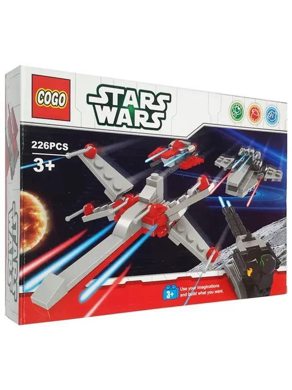 Конструктор COGO «Атака в воздухе» 80004 (Star Wars) / 226 деталей