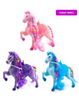 Кукольная фигурка Лошадка Принцессы 3307 17 см. / Микс