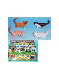 Животные резиновые «Кошки» / Микс