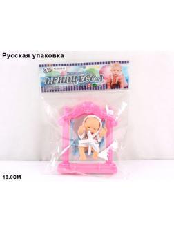 Кукла ПРИНЦЕССА на качелях Д800826
