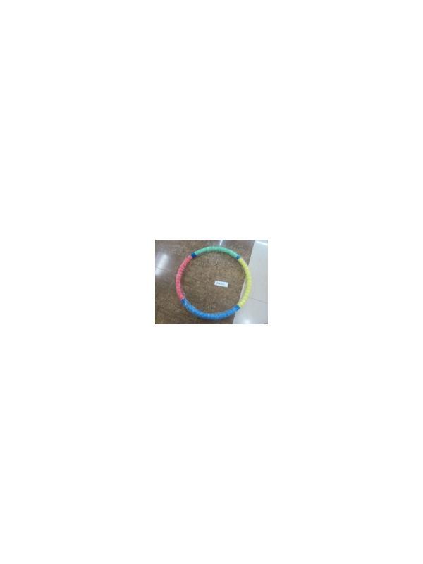 Обруч Хулахуп массажный для похудения в цветной, рельефной поролоновой оплетке / 90 см.