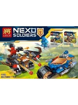 Конструктор Ll «Рыцари: Битва на машинах» 79314 (Нексо Найтс 70318, 70319) комплект 2 шт.