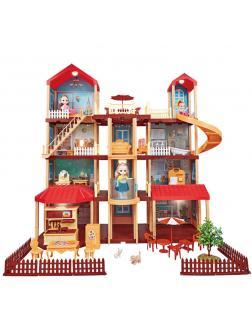 Большой кукольный домик Prinсess House «Мечта-3» 668-20 / 412 деталей