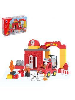 Конструктор KIDS HOME TOYS «Пожарный пункт» 188-104 / 35 деталей