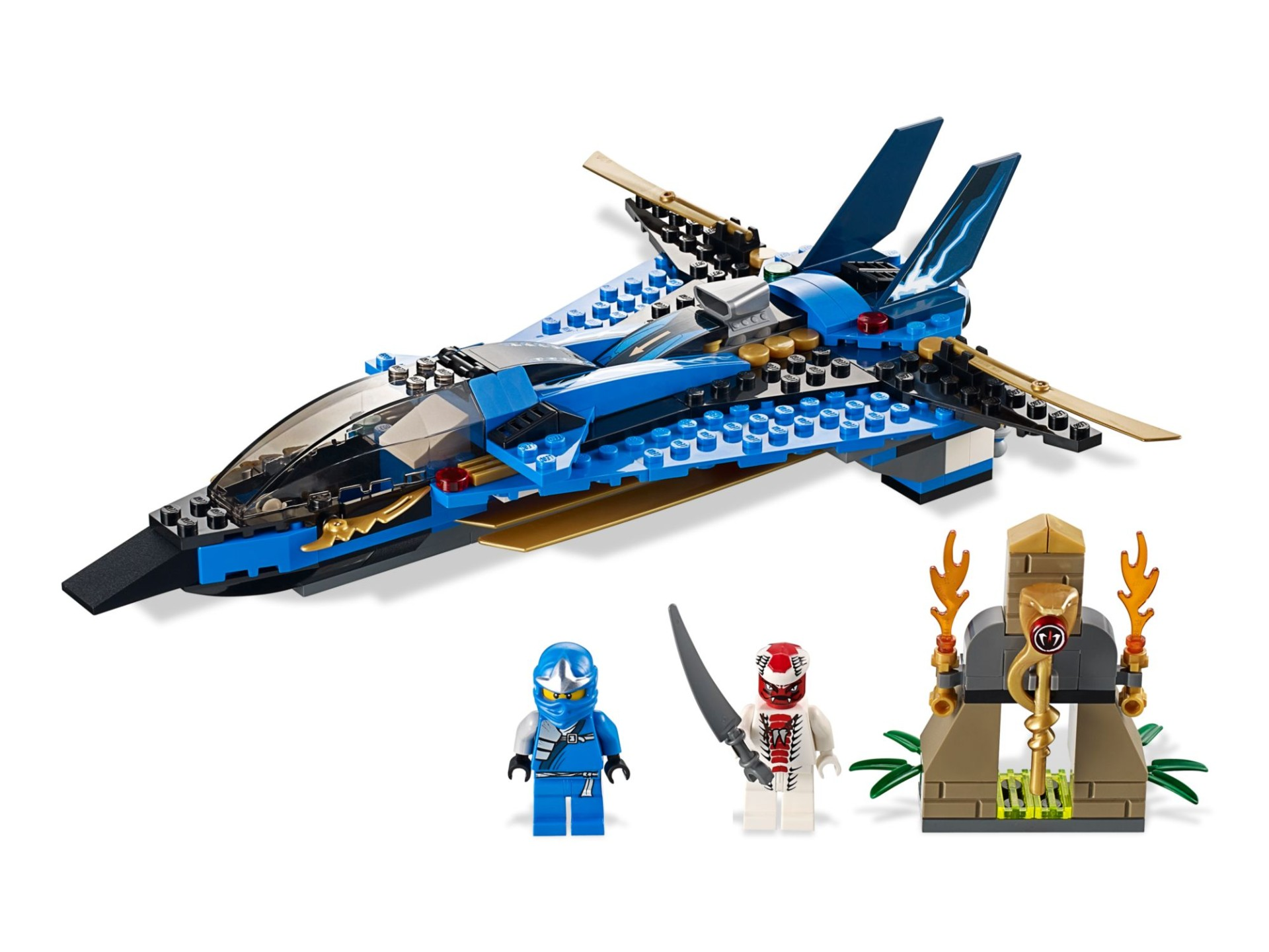 Конструктор Bl «Джей и его штурмовой истребитель» 9756 (NinjaGo 9442) / 241 деталь