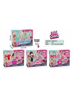 Набор Кукла OWG с аксессуарами, 4 вида в коробке