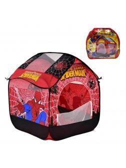Палатка детская «Человек паук» в переносной сумке 82х90х106см, A999-142