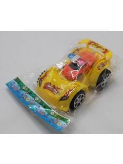 Машинка инерция и вторая маленькая машина в пакете