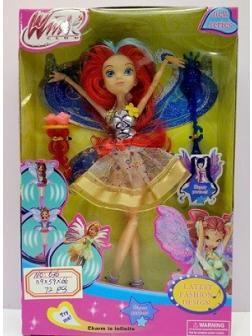 Кукла Winx шарнирная, высота 28 см, в коробке 636