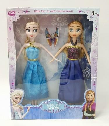 Набор кукол Frozen 311A(2), высота 32см, в коробке