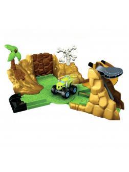 Игровой набор LEQI-TOYS «Вспыш и чудо-машинки: Автотрек в джунглях» LQ333 / 24 детали
