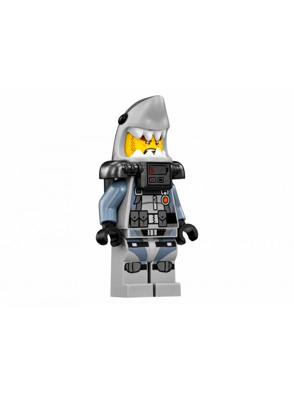 Конструктор Bl «Бомбардировщик Морской дьявол» 10716 (НиндзяГо 70609), 365 деталей