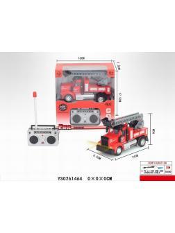 Пожарная машина на пульте управления в кор. 17.5х10х7.5см