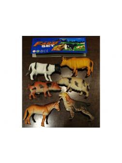 Домашние животные 6шт набор в пакете