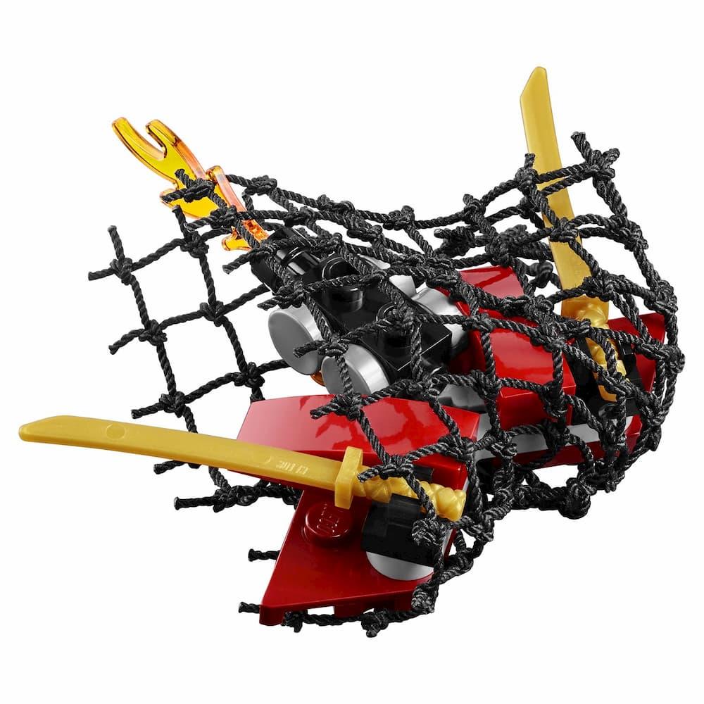 Конструктор Bl «Вертолетная атака Анакондрай» 10321 (НиндзяГо 70746) / 310 деталей