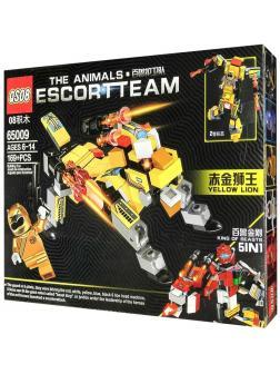 Конструктор QS08 Escort Team 5 в 1 «Космический Желтый дог» 65009 (Star Wars) / 169 деталей