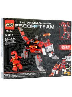 Конструктор QS08 Escort Team 5 в 1 «Космический Красный дог» 65007 (Star Wars) / 151 деталь