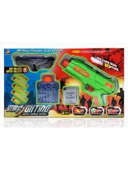 Средний бластер Star Fighting Gun с пулями и очками, 3 вида SP8008
