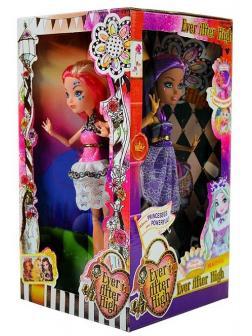 Куклы Ever After High на шарнирах, высота 29 см, 4х сторонняя 4шт в коробке G-22A