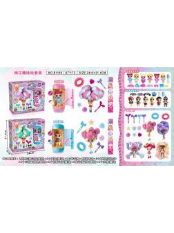 Кукла Candylocks Сахарная милашка  и капсула ЛОЛ в коробке B1166