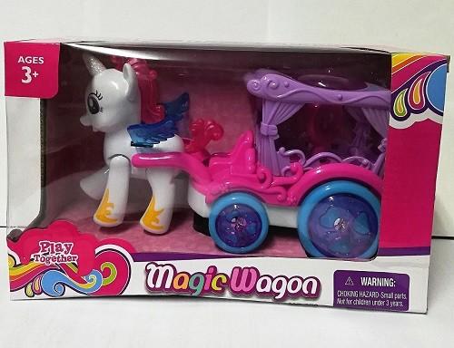 Набор игровой Пони Magic Wagon с каретой в коробке / Play Together