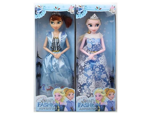 Кукла Холодное сердце Эльза и Анна 311A, высота 26 см, в коробке