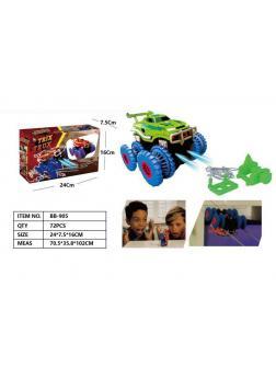 Гоночные машинки Монстр-Трак Trix Truk с трассой, тросс в коробке 24х7.5х16см.